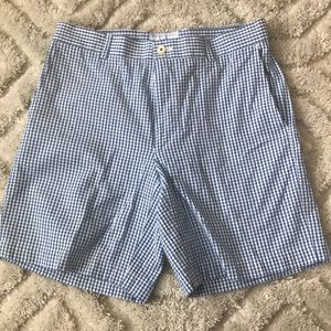 Men's gingham shorts